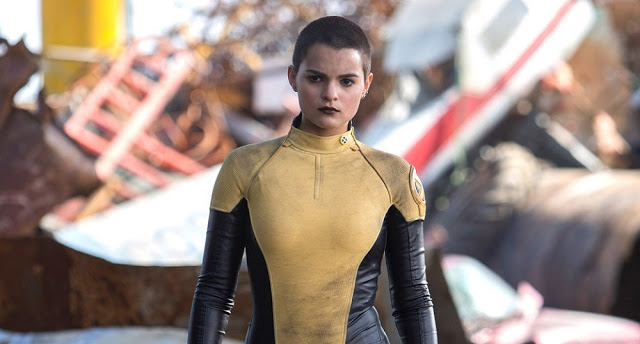 Brianna Hildebrand Negasonic Teenage Warhead deadpool still