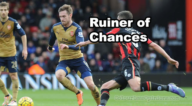 ramsey bournemouth arsenal 2016