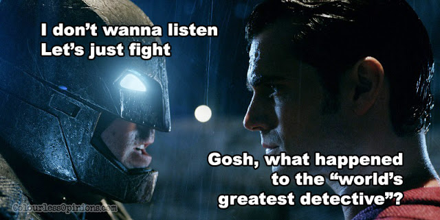 batman v superman movie meme