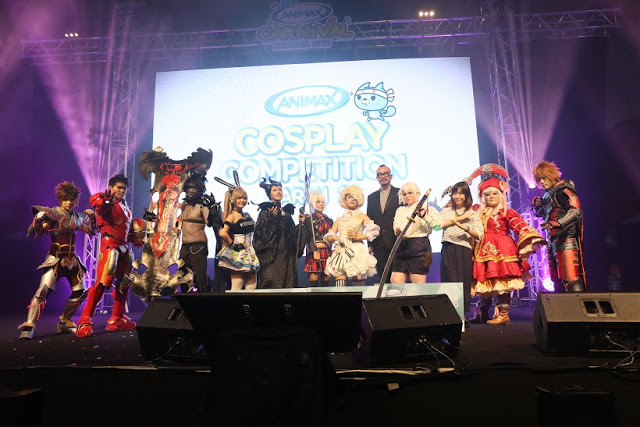 cosplay finalists animax carnival malaysia 2016