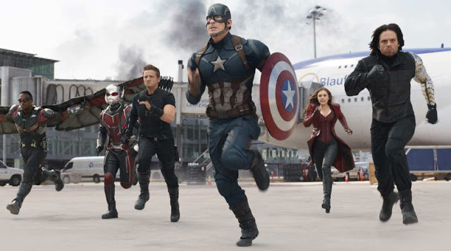 Team Captain America Civil War still