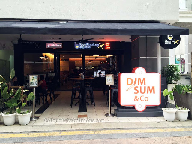 Dim Sum & Co. beer factory express Publika KL Malaysia outlet