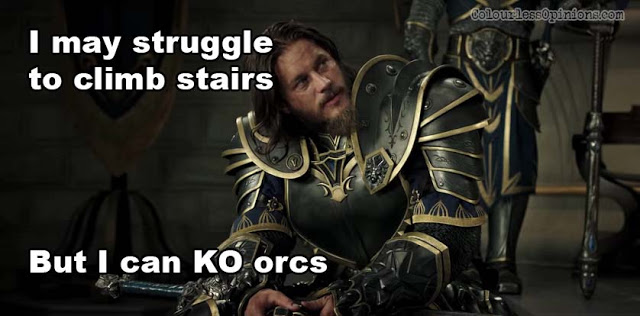 warcraft movie meme lothar