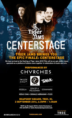 chvches malaysia Tiger Jams Centrestage poster
