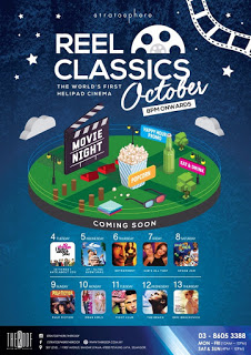 reel classic october helipad cinema stratosphere the roof malaysia