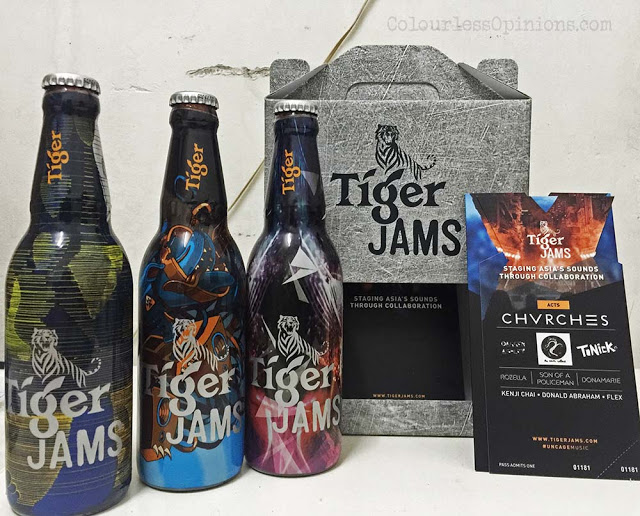 tiger jams beer bottle chvrches invites tickets