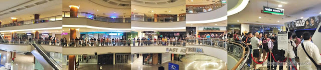queue crowd star wars rogue one go rogue malaysia