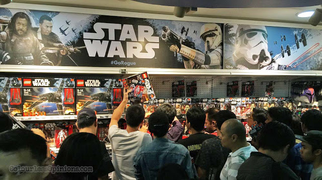 star wars rogue one go rogue malaysia mid valley toys r us force friday