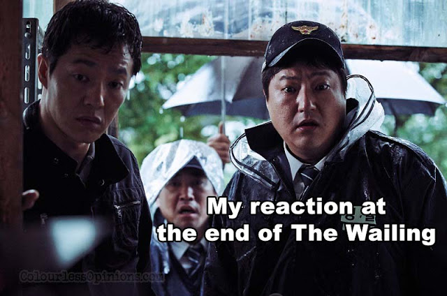 the wailing movie meme