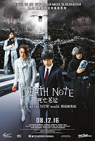 Death Note light up new world 2016 movie poster malaysia