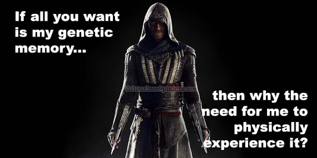 assassin's creed movie animus meme