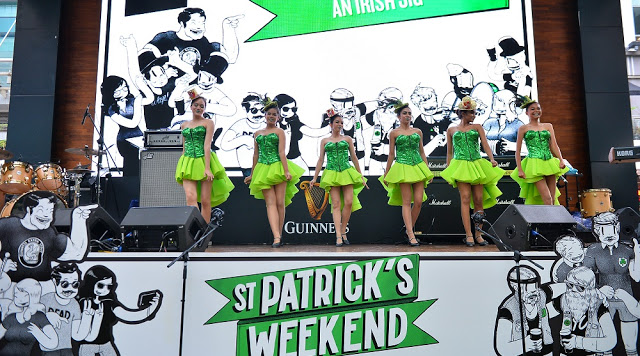irish jig dance guinness malaysia st patricks day 2017