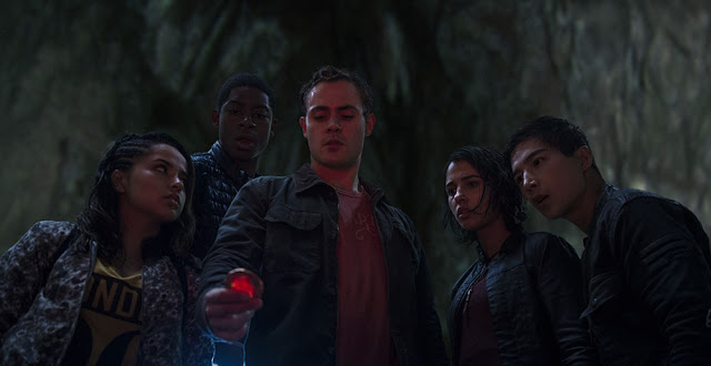 power rangers 2017 cast still
