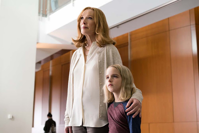 Lindsay Duncan Mckenna Grace gifted movie still
