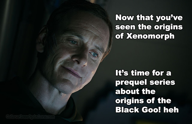alien covenant meme