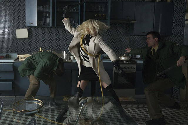 atomic blonde action shot still