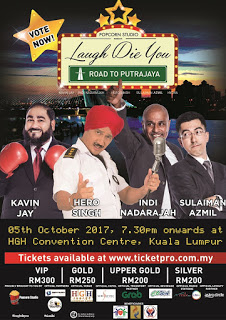 laugh die you road to putrajaya 2017 poster