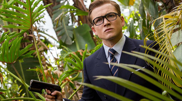 taron egerton eggsy kingsman 2 golden circle movie still