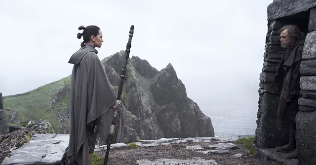 star wars 8 last jedi still rey luke