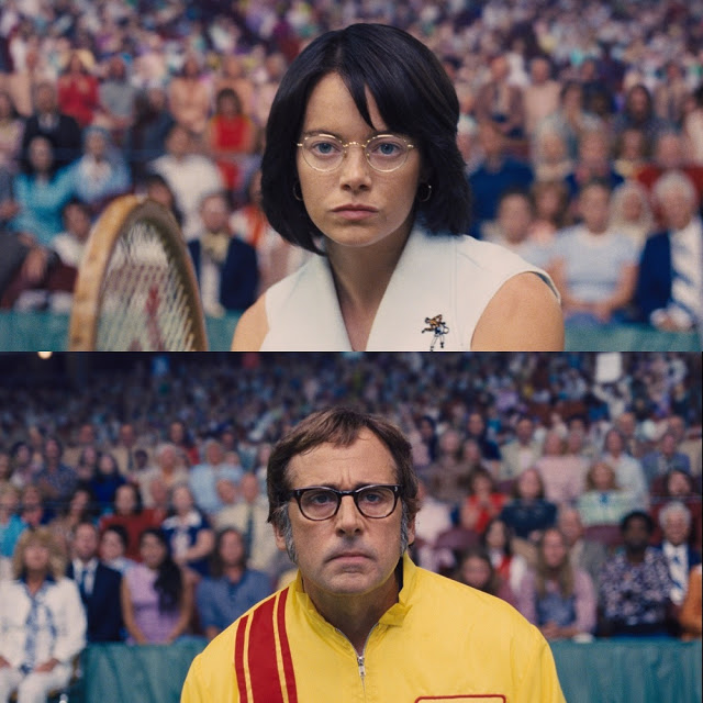 emma stone steve carell battle of sexes movie still