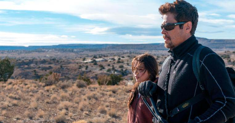 Benicio Del Toro and Isabela Moner in SICARIO: Day of the Soldado