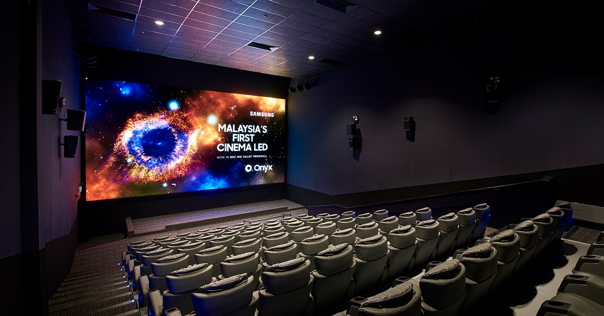 Review Gsc Onyx Cinema Led Screen At Mid Valley