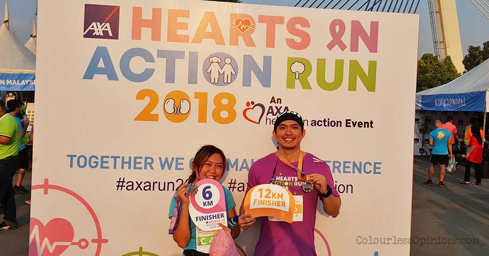 axa hearts in action run 2018