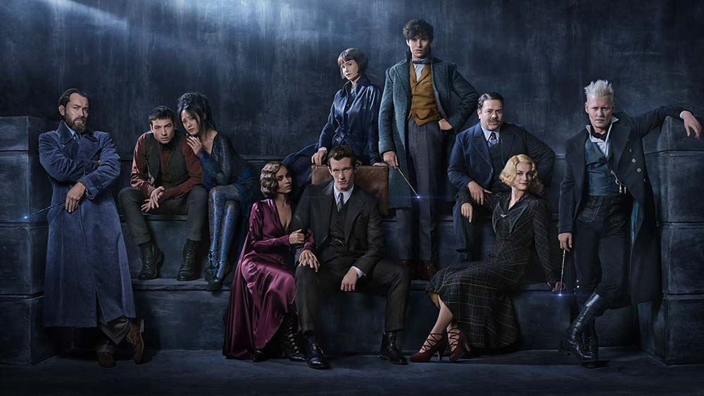 fantastic beasts 2 grindelwald cast first look