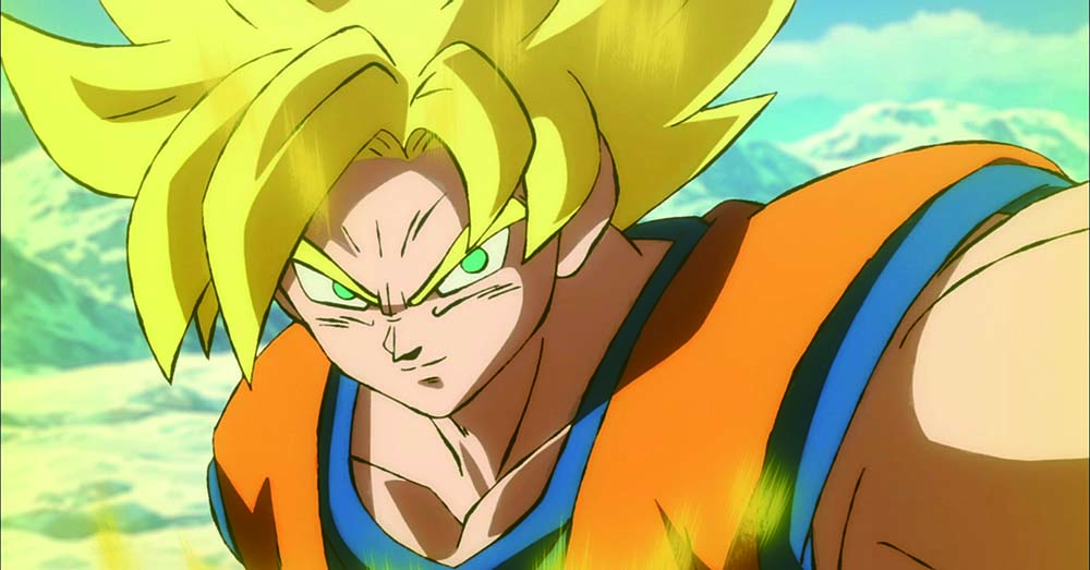 son goku dragon ball super broly movie still