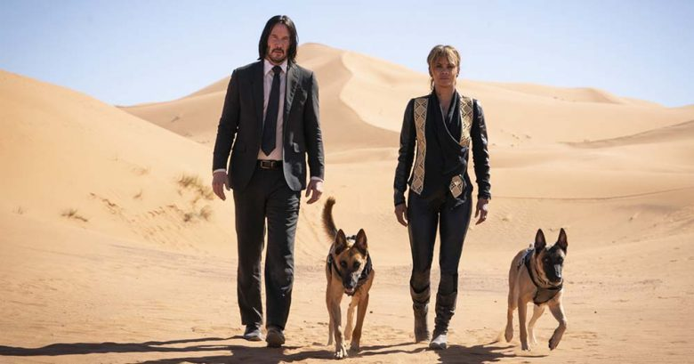 John Wick 3 parabellum keanu reeves halle berry dogs