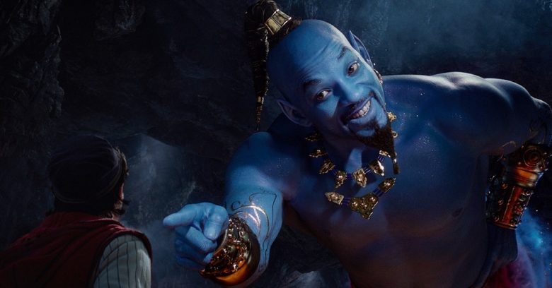 will smith genie aladdin 2019 remake